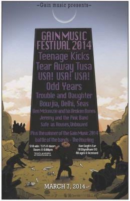 GAIN Music Festival 2014 @ Guelph