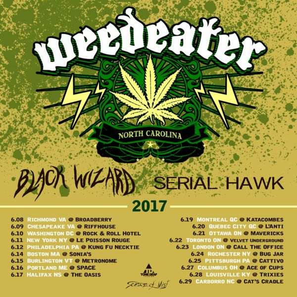 Weedeater, London, ON Live At Call The Office