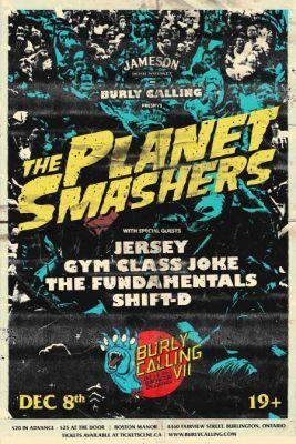The Planet Smashers @ Burlington