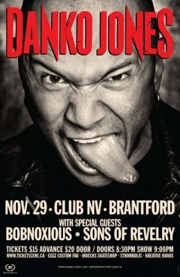 Danko Jones @ Brantford