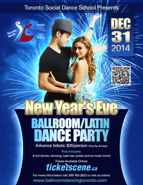 Sell Car For Cash >> New Year's Eve - Ballroom/Latin Dance Party | Ballroom ...