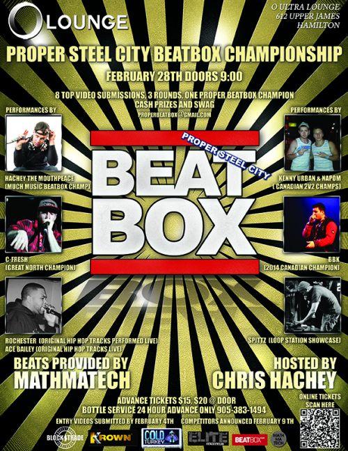 Proper Steel City BeatBox Championship -