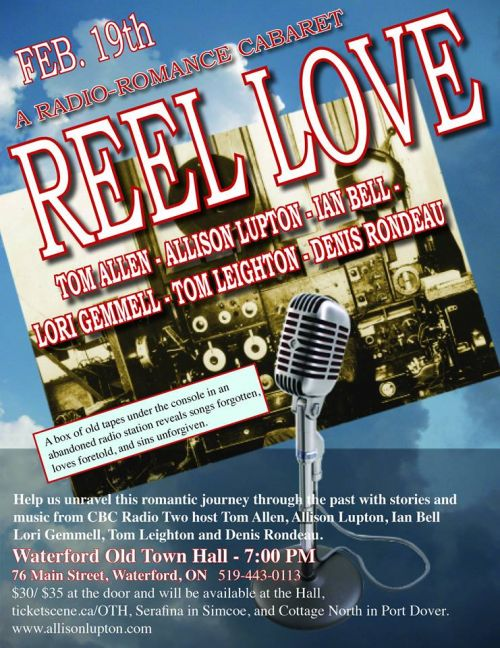 Town Reeling Over Sudden Death Of Popular 17 Year Old Girl: REEL LOVE Radio Romance Cabaret- SOLD OUT