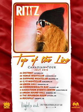 RITTZ Strange Music Special Guests Live In Ottawa July 15th