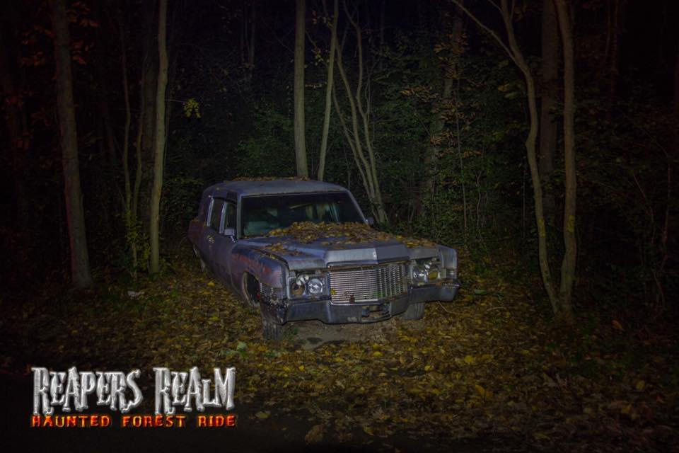 Reapers Realm Haunted Forest Ride Saturday October 07, 2017 7:30p.m.-11:15 p.m.
