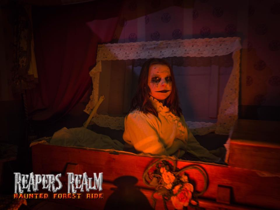 Reapers Realm Haunted Forest Ride Saturday October 14, 2017 7:30p.m.-11:15 p.m.