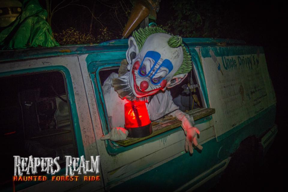 Reapers Realm Haunted Forest Ride Friday October 20, 2017 7:30p.m.-11:15 p.m.