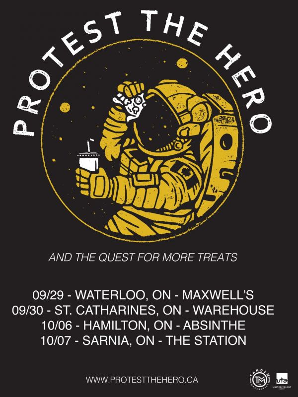 PROTEST THE HERO LIVE in Sarnia with special guests!