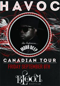 Havoc: The Infamous Mobb Deep Live In Nelson BC
