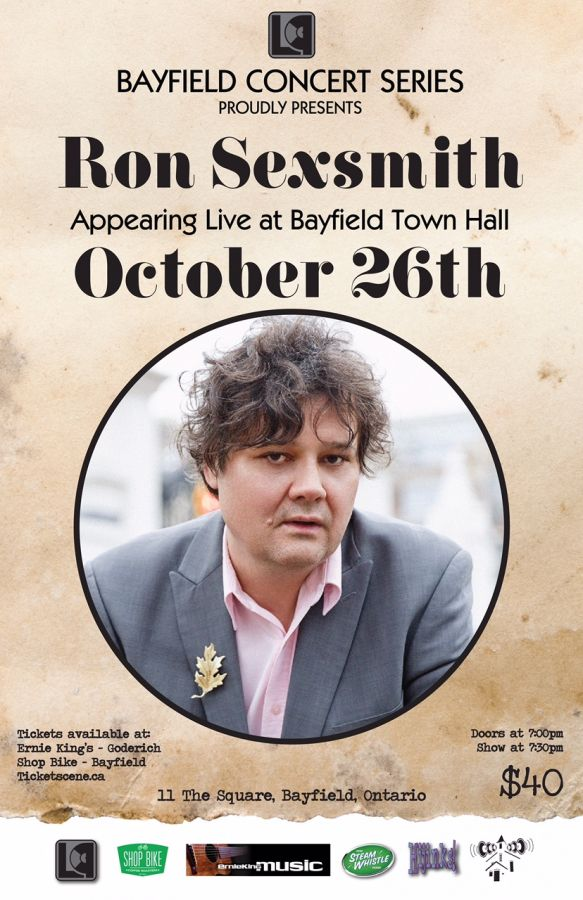 Ron Sexsmith Live at The Bayfield Concert Series