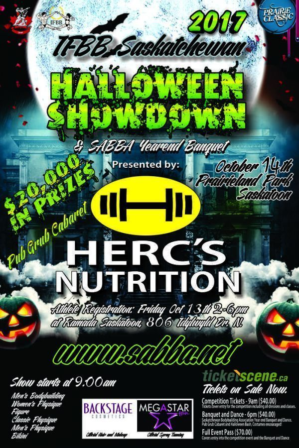 IFBB Saskatchewan Halloween Showdown - Prairie Classic