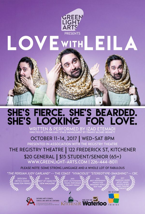 Love with Leila | Love with Leila, Kitchener, ON live at The ...