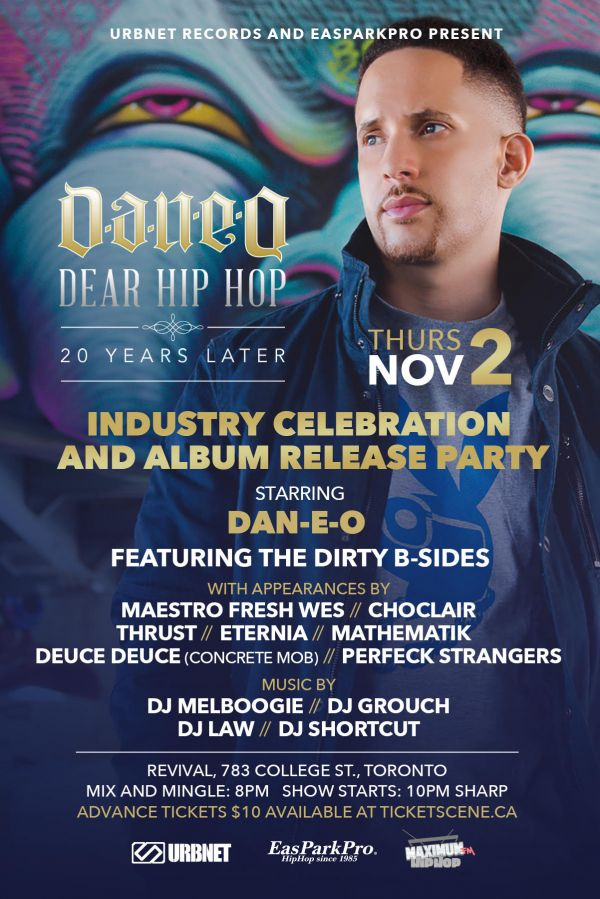 Dear Hip Hop 20YL - Album Release and Anniversary