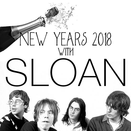 NYE with SLOAN at Maxwell's
