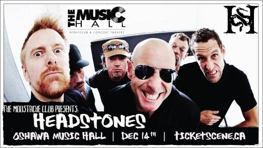The Moustache Club Presents: Headstones