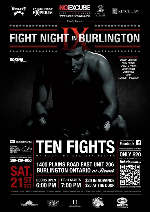 Fight Night in Burlington IX -