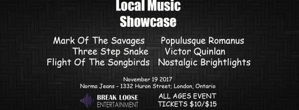 London, Ontario Showcase: 9th Edition