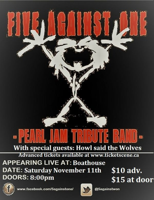 7T8/Pearl Jam Tribute at Boathouse