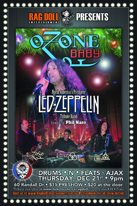 OZONE BABY - North America's Premiere - Led Zeppelin Tribute Band