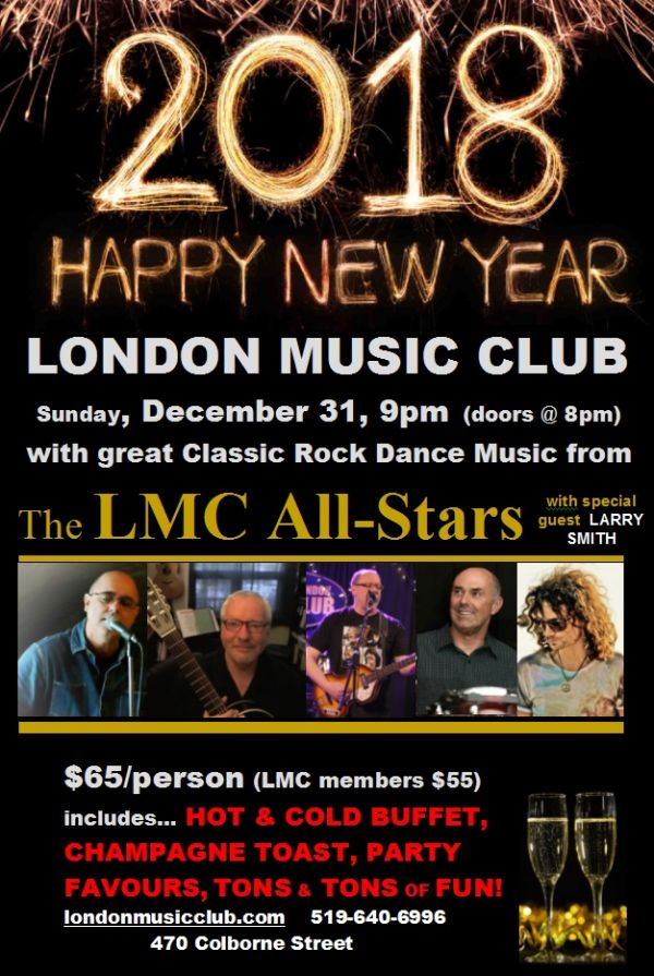 SOLD OUT*** New Years Dance/Party @ LMC!!! ***SOLD OUT