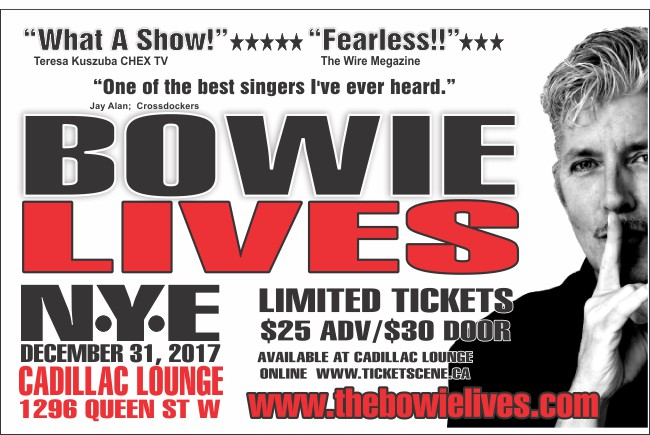 NYE with Bowie Lives