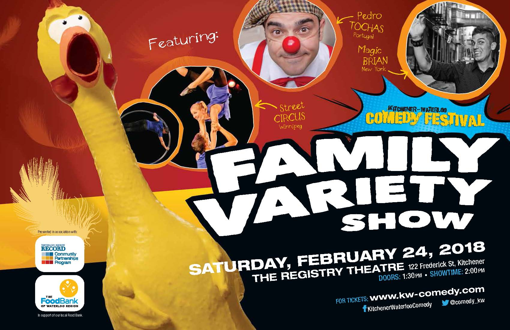 KW Comedy Festival - Family Variety Show