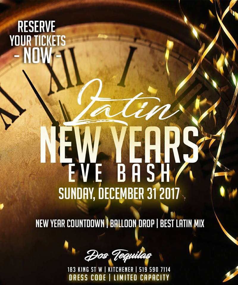 Latin Bash 2018 New Years Eve Party