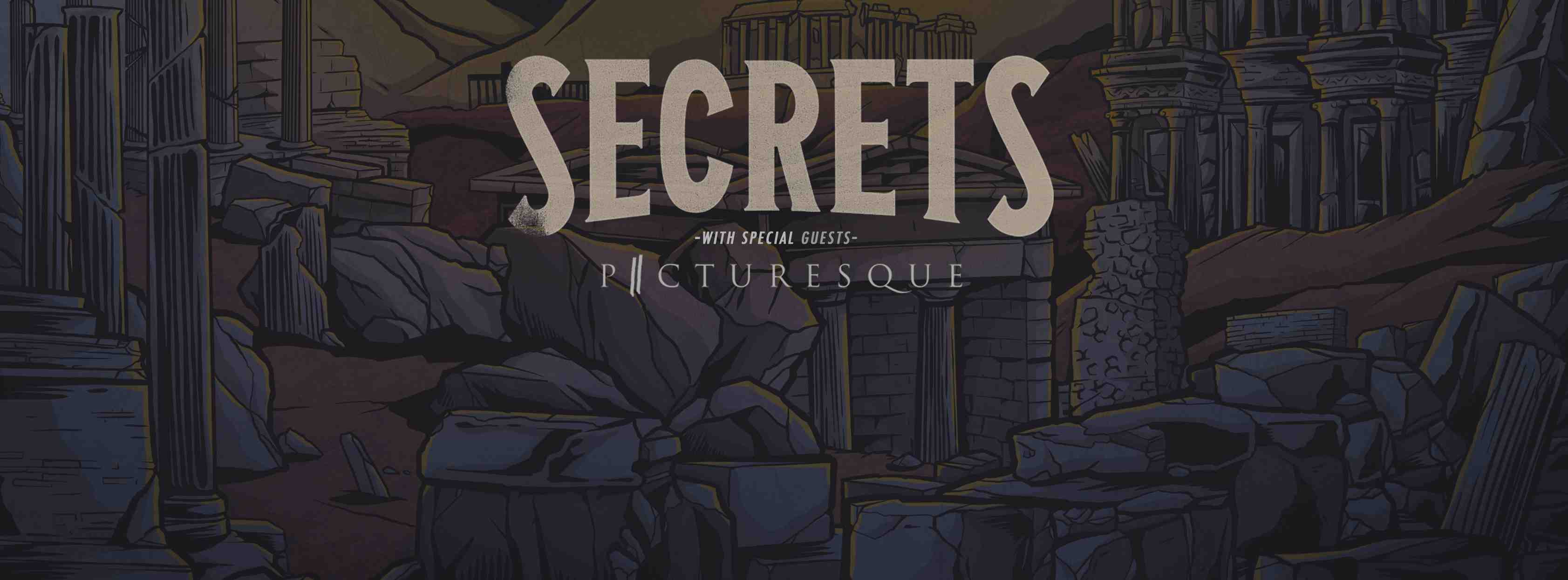 Secrets, Picturesque & More Live In Ottawa March 22nd