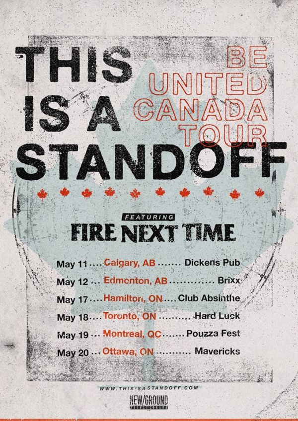 This Is A Standoff (Reunion) With Fire Next Time Live In Ottawa