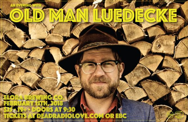 An Evening With Old Man Luedecke in Elora