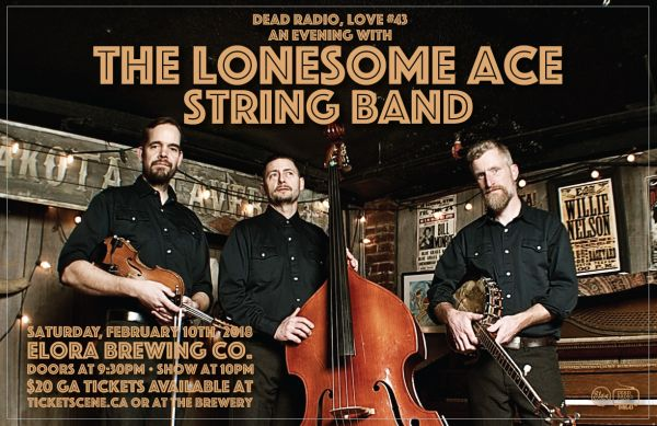 DRL43 • An Evening With The Lonesome Ace String Band (Album Release)