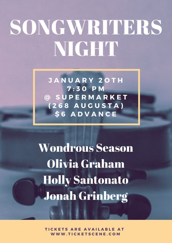 Songwriters Night at Supermarket