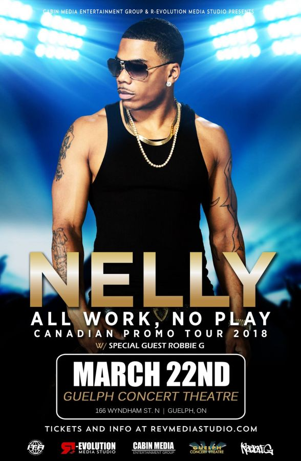 Nelly All Work No Play Canadian Tour Live in Guelph