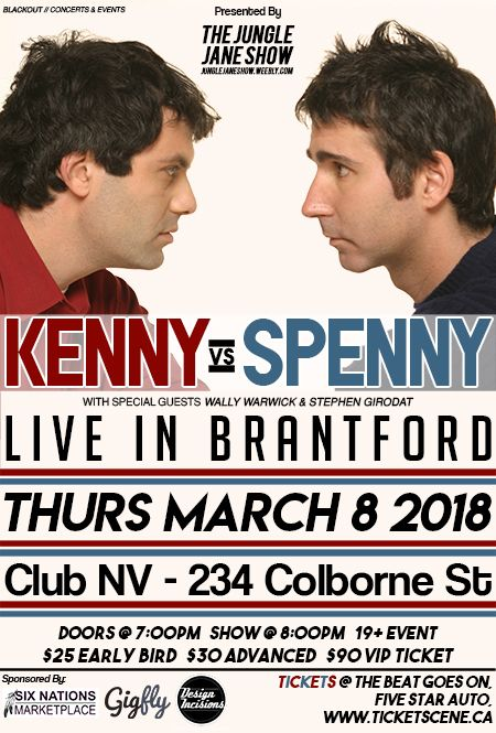 KENNY vs SPENNY in Brantford