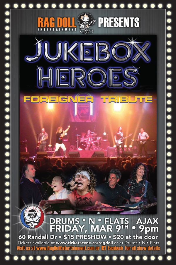 JUKEBOX HEROES - International Premiere