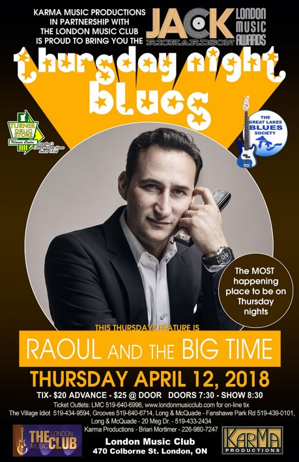 Raoul & The Big Time @ the LMC!