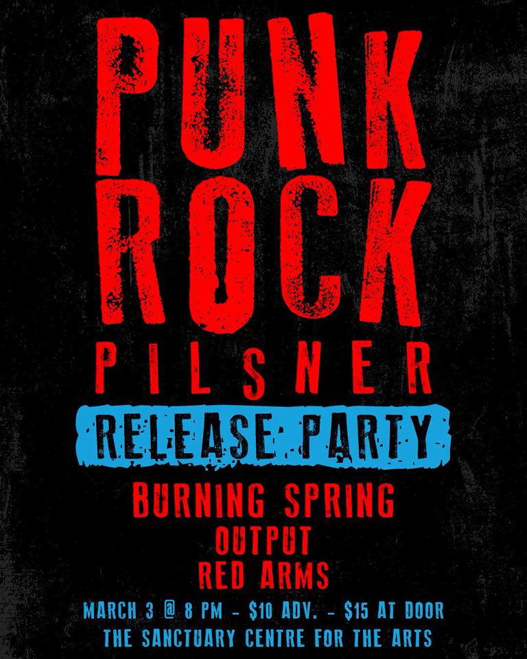 Punk Rock Pilsner Release Party