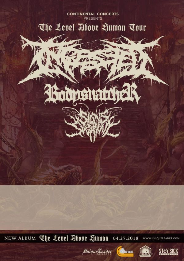 Ingested, Sighns Of The Swarm, Bodysnatcher @ Overtime Sports Bar