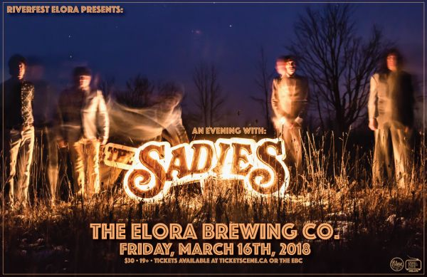An Evening With The Sadies • Presented By Riverfest Elora