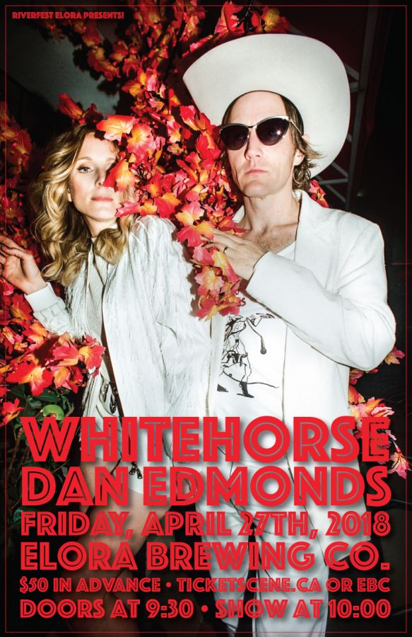 An Evening with Whitehorse & Dan Edmonds • Presented By Riverfest Elora