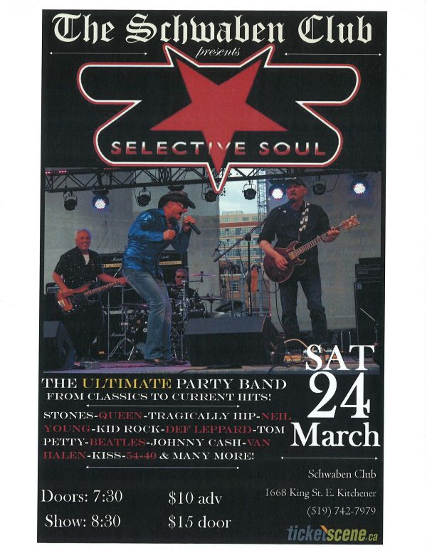 Schwaben Club Presents Selective Soul