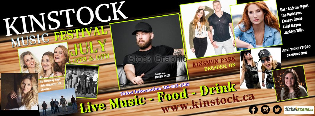 KINSTOCK MUSIC FESTIVAL FT ANDREW HYATT & THE RECKLAWS