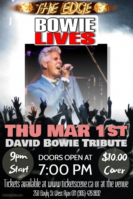 David Bowie Tribute featuring