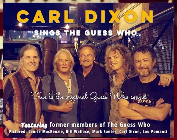 Carl Dixon sings The Guess Who
