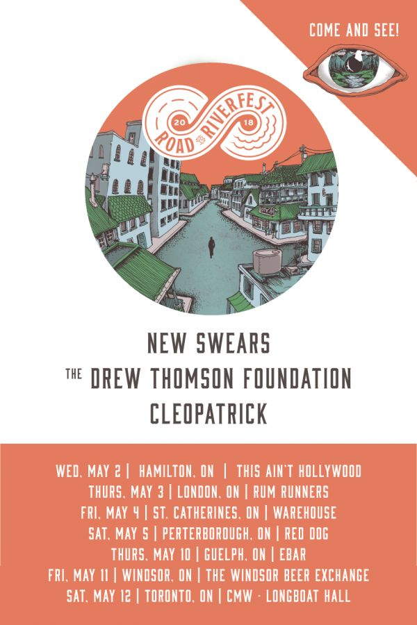 Road to Riverfest • New Swears, The Drew Thomson Foundation & Cleopatrick in Guelph