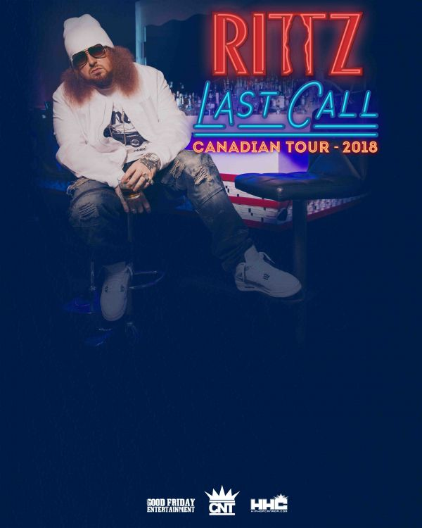 Rittz Live In Ottawa May 18th