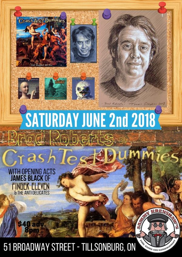 Brad Roberts of Crash Test Dummies
