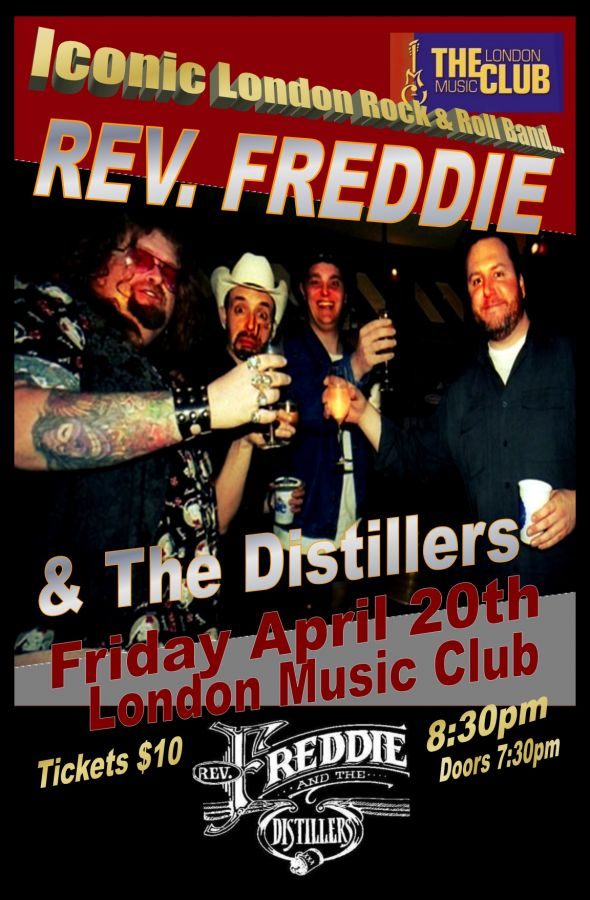 Rev. Freddie & The Distillers @ LMC!!!
