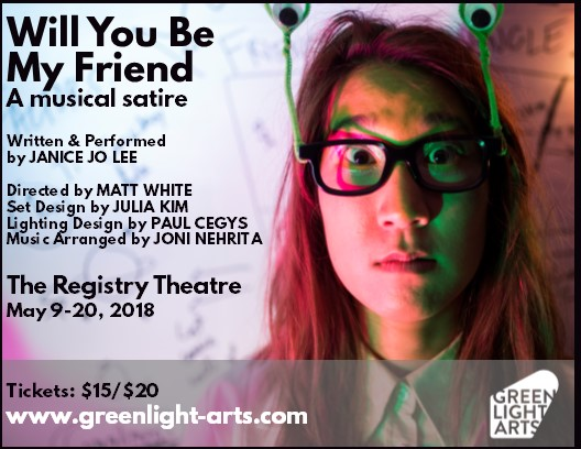 Will You Be My Friend, the musical