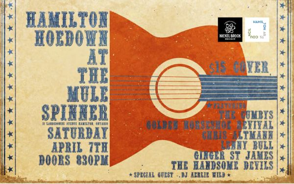 Hamilton Hoedown at the Mule Spinner